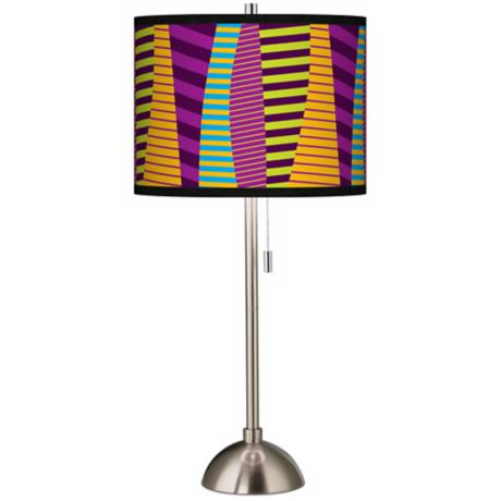 Mambo Giclee Shade Table Lamp