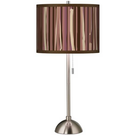 Kalahari Lines Giclee Shade Table Lamp