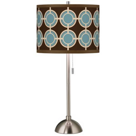 Stacy Garcia Porthole Giclee Table Lamp