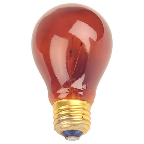Red 25 Watt Party Light Bulb 60781