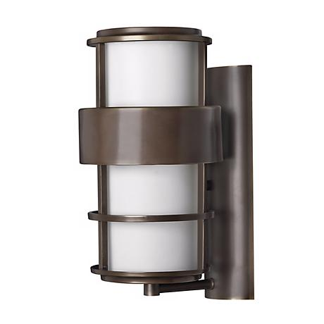"Hinkley Saturn Metro Bronze 16"" High Outdoor Wall Light"