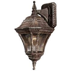 "Segovia Collection 17 1/2"" High Vintage Rust Wall Light"