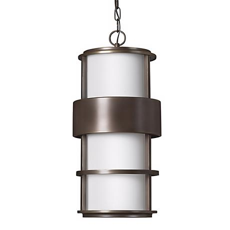 "Hinkley Saturn Bronze 21 1/2"" High Outdoor Hanging Light"