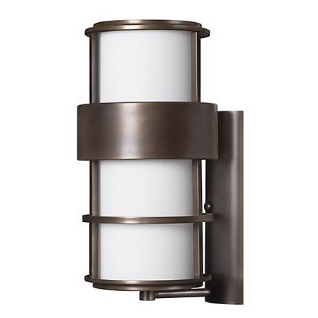 "Hinkley Saturn Metro Bronze 20 1/4"" High Outdoor Wall Light"