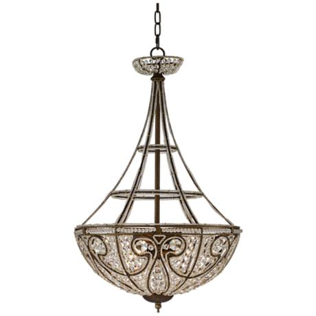 Bethany Collection Bronze Finish Four Light Chandelier