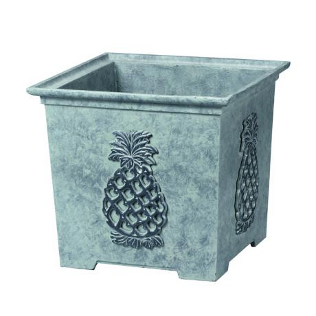 "12 "" High Williamsburg Square Pineapple Planter"