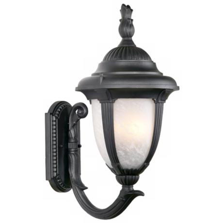 "Casa Sorrento™ Black  14  3/4"" High Outdoor Light"