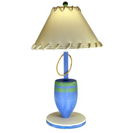 Nautical Desk Lamps on Blue Buoy Nautical Table Lamp   Lampsplus Com