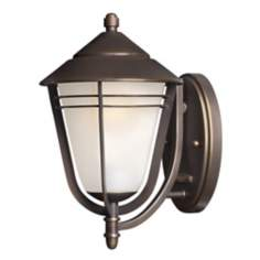 "Hinkley Aurora Collection 11 1/2"" High Outdoor Wall Light"