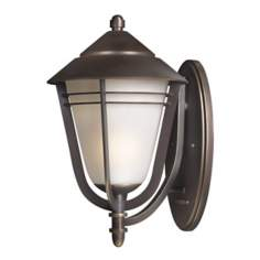 "Aurora Collection 18"" High Outdoor Wall Light"