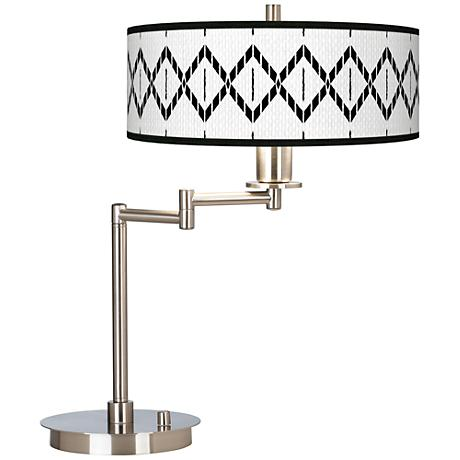 Paved Desert Giclee CFL Swing Arm Desk Lamp