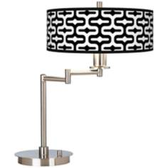 Reflection Giclee CFL Swing Arm Desk Lamp