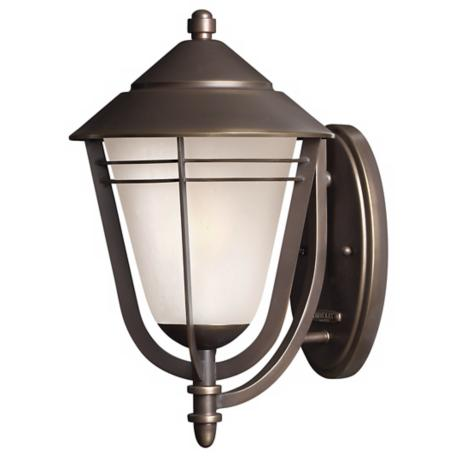 "Hinkley Aurora Collection 15"" High Outdoor Wall Light"