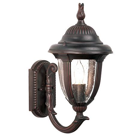 "Casa Sierra™ Collection Bronze 14 3/4"" High Wall Light"
