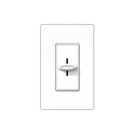 Skylark White 1000w Slide Dimmer
