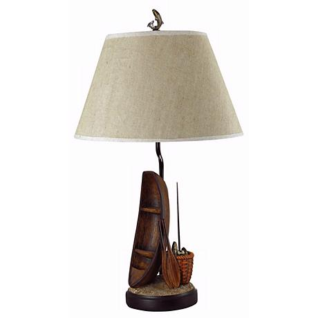 Fisherman's Row Boat Table Lamp