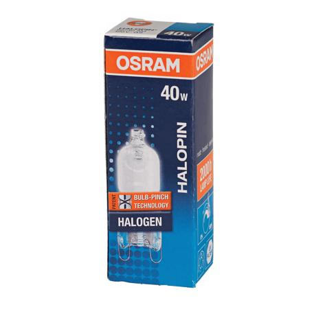 OSRAM 40-Watt Halopin G9 Frost Light Bulb