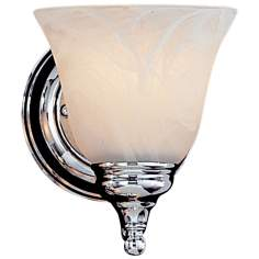 "Bristol Collection 7"" High Chrome Wall Sconce"