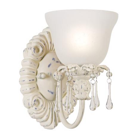 Shabby Chic Bathroom Lighting bathroom light fixtures: from sleek to shabby chic - linda merrill