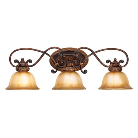 "Illuminati Collection 31"" Wide Bathroom Light Fixture"
