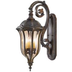 "Murray Feiss Baton Rouge 30"" High Outdoor Wall Lantern"