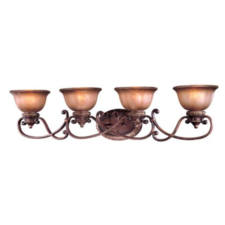 "Illuminati Collection 42"" Wide Bath Light Fixture"