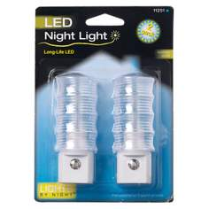 Set of Two LED White Night Light