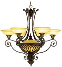 "Feiss Stirling Castle 36"" Wide Seven-Light Chandelier"