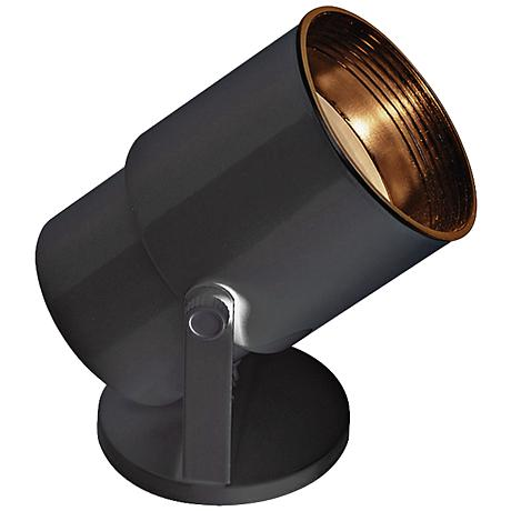 Compact Fluorescent  Accent Black Floor Uplight