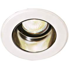 "Lightolier 4"" Low Voltage Clear Alzak Recessed Light Trim"