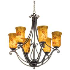 Somerset Black Pearl Chandelier