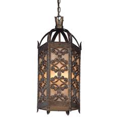 "Gables Collection 27 1/2"" High Outdoor Hanging Light"