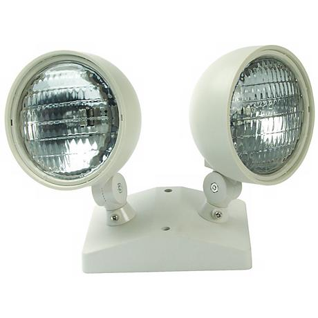 Dual Head Indoor 5.4 Watt Remote Emergency Light