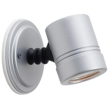 Myra Collection Silver Outdoor Halogen Spotlight