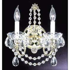 "James R. Moder 12"" Wide Christina Collection Sconce"