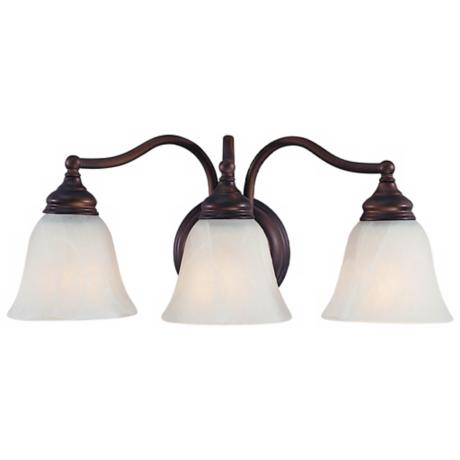 "Murray Feiss 18"" Wide 3 Light Bath Fixture"