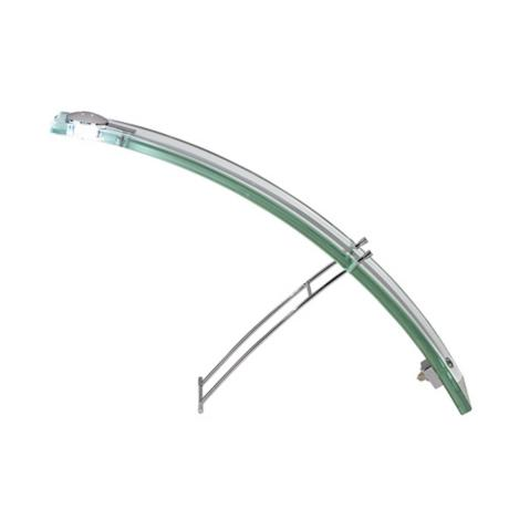 "Glass  Arch 11"" High Desk Lamp"