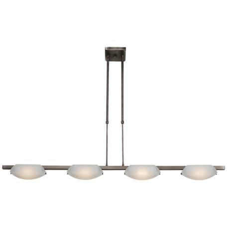 Zig Nido Collection Four Light Island Chandelier
