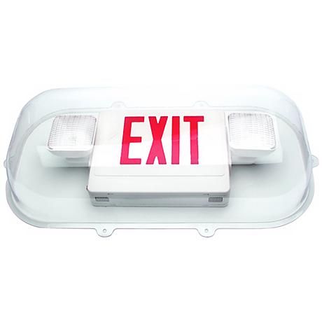 Shield for Exit Sign/Emergency Lights