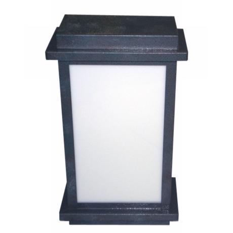 Black Rust Box Wall Lantern