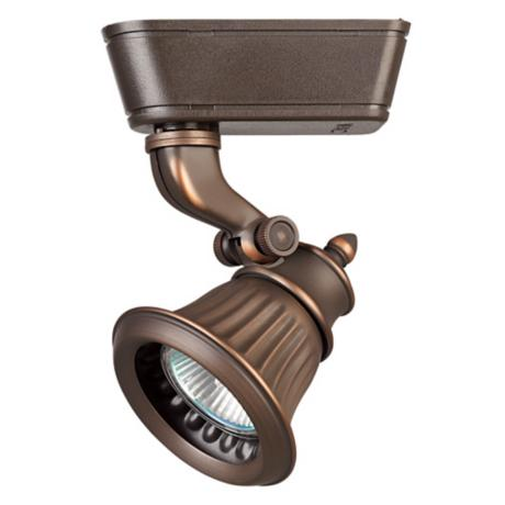 WAC Rialto Bronze Track Head for Lightolier Track Systems