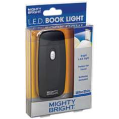 Mighty Bright Ultrathin LED Black Book Light