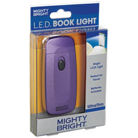 Mighty Bright Ultrathin LED Purple Book Light