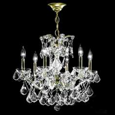 James R. Moder Maxfield Collection Crystal Chandelier