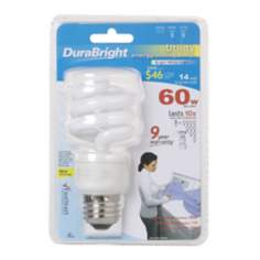 Dura Bright 14 Watt Energy Saving CFL Light Bulb