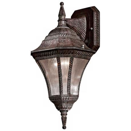 "Segovia Collection 14 1/2"" High Vintage Rust Wall Light"