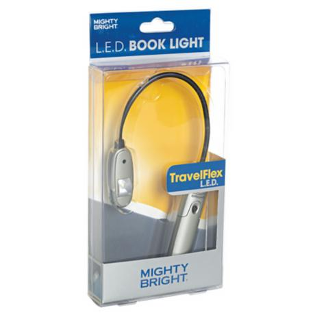 Mighty Bright Silver TravelFlex LED Book Light