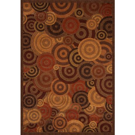 Quadra Overlapping Circles Area Rug