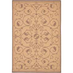 Veranda Natural-Cocoa Outdoor Rug