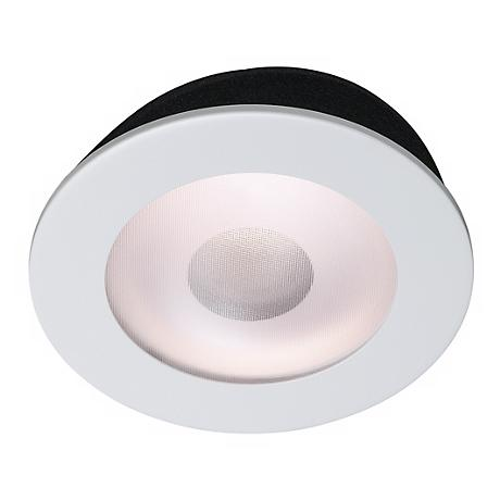 "Juno 5"" Line Voltage Frosted Lens Shower Recessed Light Trim"
